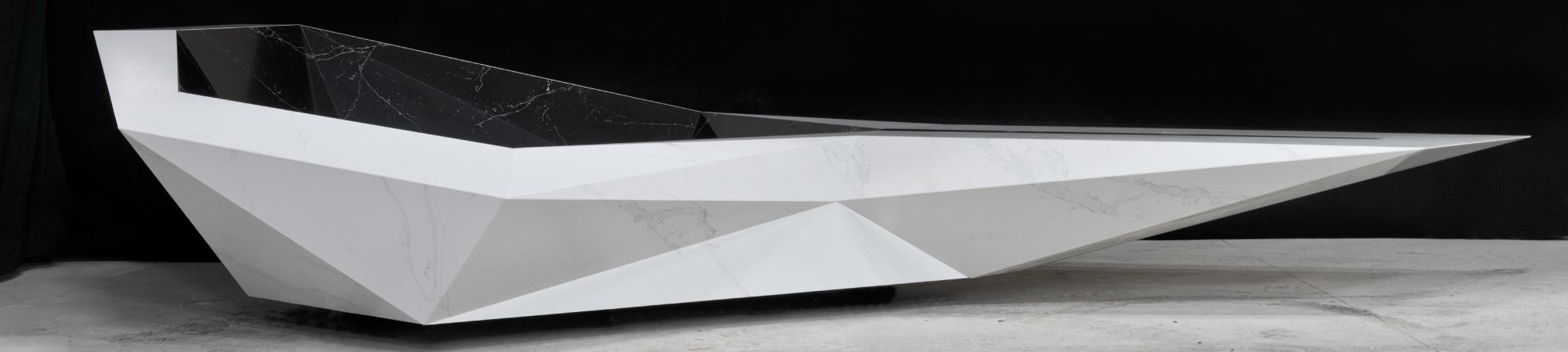 COMPAC Hammam - Unique Calacatta & Unique Marquina